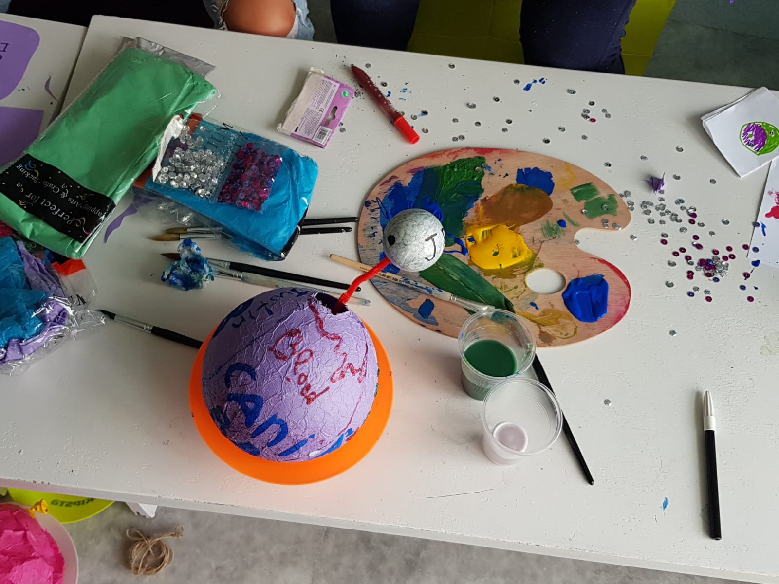 Z camp, day 9 - arts and crafts
