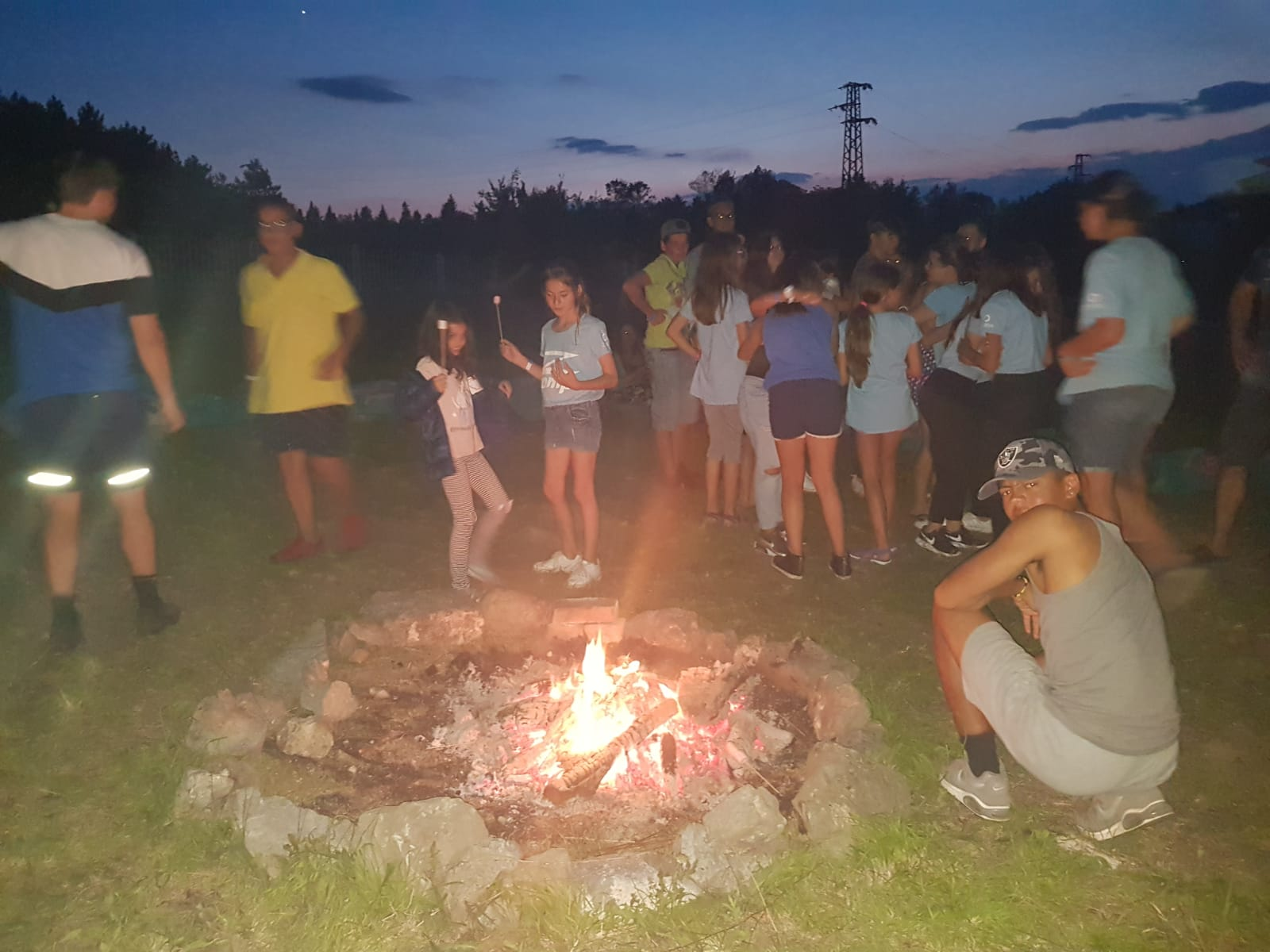 Z camp, day 4 - camp Fire