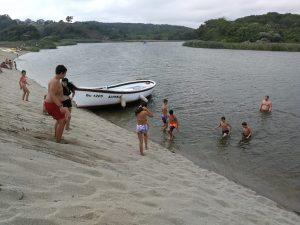 Z кемп, ден 17 - по река Велека - момчета във водите на Велека