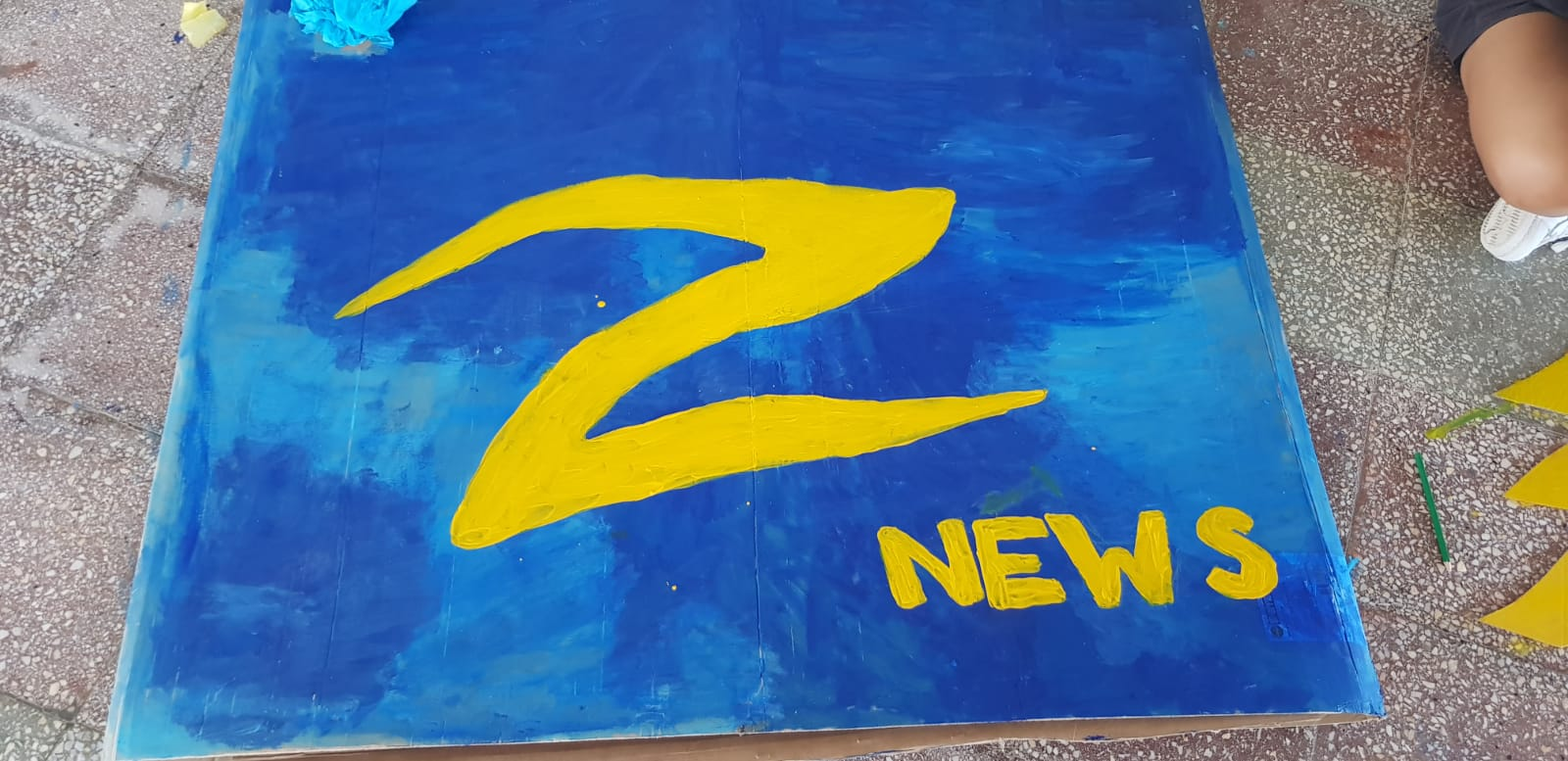 Z camp, Day 20 - Arts and Crafts - Z news logo