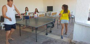 летни езикови лагери за деца Z кемп, ден 31 - следобеден спорт, тенис на маса